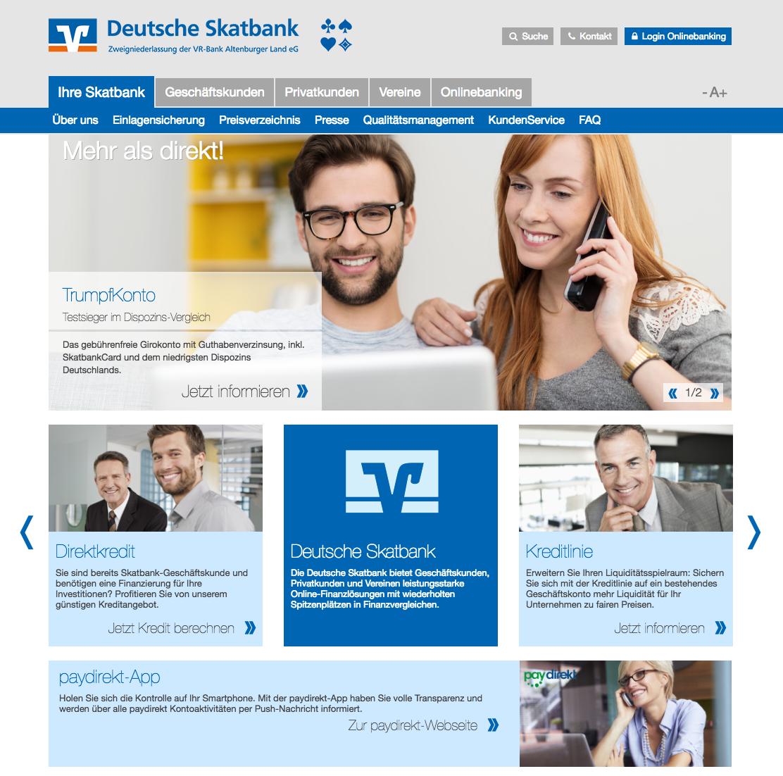 deutsche skatbank webseite